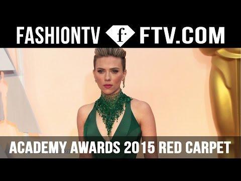Academy Awards 2015 Red Carpet Arrivals ft. Lady Gaga | FashionTV