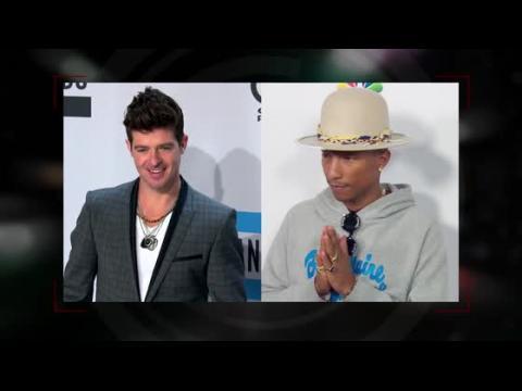 Robin Thicke et Pharrell Williams doivent 7,3 millions de dollars à la famille de Marvin Gaye pour Blurred Lines