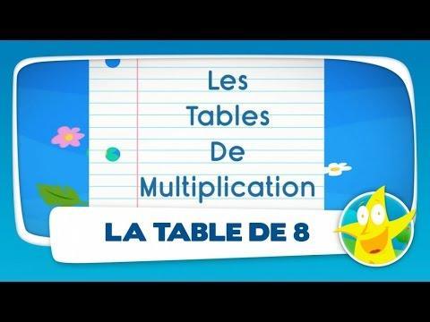 Comptines pour enfants la table de 7 apprendre les - Astuces pour apprendre les tables de multiplication ...