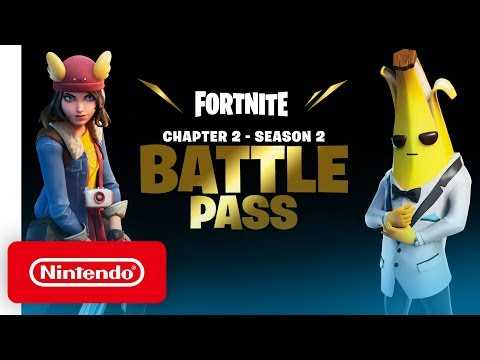 Fortnite Chapter 2: Season 2 - Battle Pass Trailer - Nintendo Switch