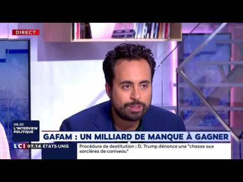 "Faut-il renforcer la taxe Gafa ? Mounir Mahjoubi : ""Pourquoi pas"""