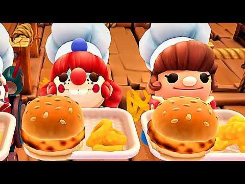 OVERCOOKED 2 CARNIVAL OF CHAOS Gameplay Trailer (2019) PS4 / Xbox One / PC