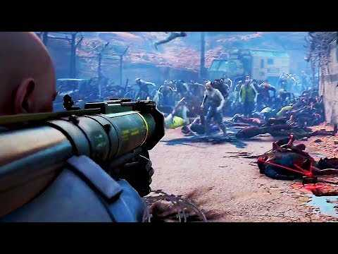 WORLD WAR Z Launch Trailer (2019) PS4 / Xbox One / PC Zombie Game