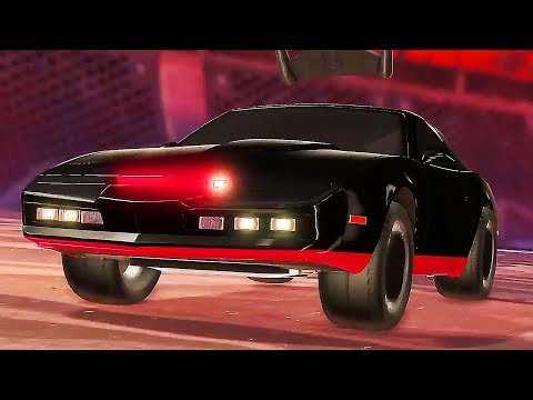 "ROCKET LEAGUE ""Knight Rider DLC"" Gameplay Trailer (2019) PS4 / Xbox One / PC"