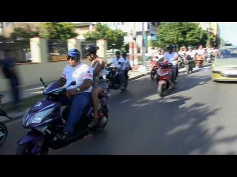 Electric motorcycles help Cuba ride out a fuel shortage