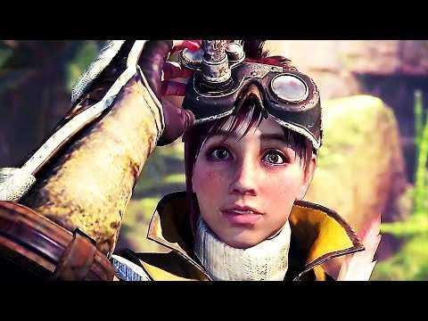 MONSTER HUNTER WORLD ICEBORN Gameplay Trailer (2019) PS4 / Xbox One / PC