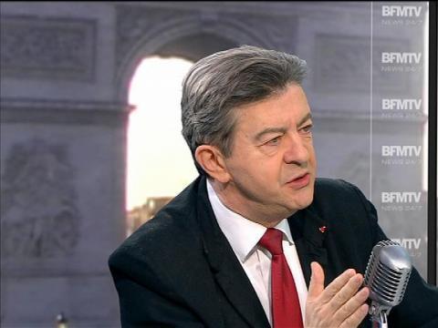 """Mélenchon à  Besancenot: """"nous sommes en opposition, mais pas dans l'opposition"""" - 02/04"""