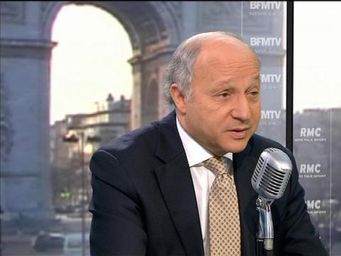 """Fabius: """"Si Hollande et Ayrault l'avaient su, ils auraient viré Cahuzac"""" - 03/04"""