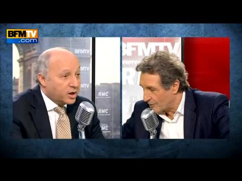 """Fabius sur Cahuzac: """"c'est dévastateur pour la vie publique"""" - 03/04"""
