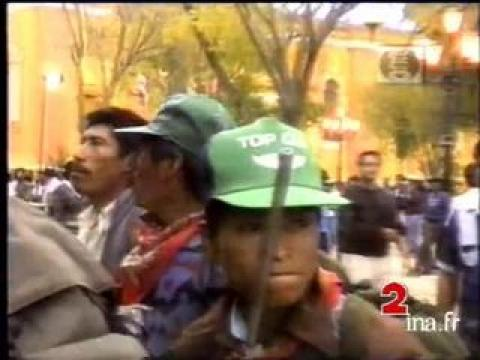 Révolte indienne au Mexique
