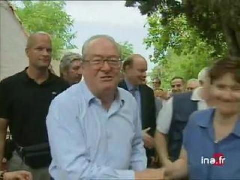 Jean Marie Le Pen à Marseille