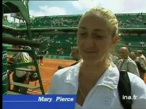 Belles de match victoire Hingis Pierce