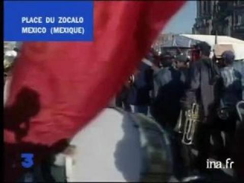 Sous commandant Marcos à Mexico