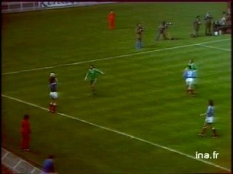 Eliminatoires de la coupe du monde de football 1978 : France - Eire