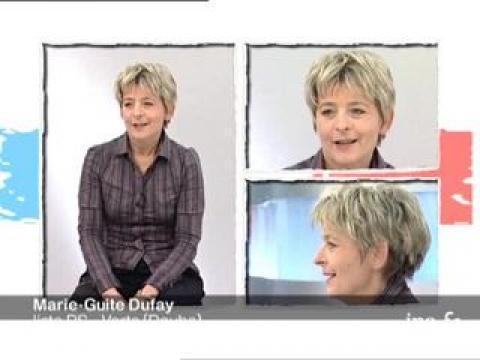 Elections Régionales :  interview de  Marie Guite Dufay, liste PS - Verts