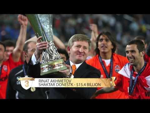 Les 5 plus riches propriétaires et actionnaires de clubs de foot
