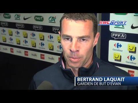 Coupe de France / Laquait, héros d'Evian - 18/04
