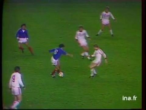 Football : France-URSS