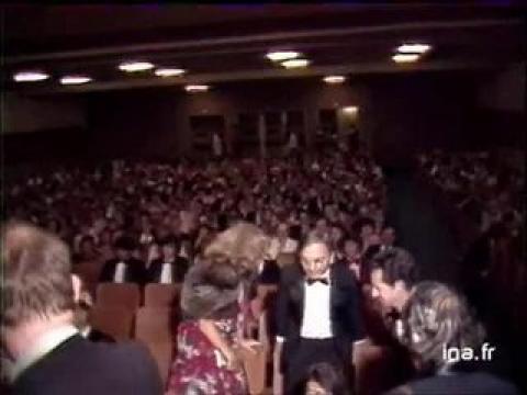 Plateau Sean Connery, Arthur Penn, Leslie Caron et Jean-Claude Tramont