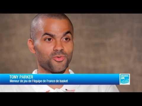 L'entretien - Tony Parker, meneur de jeu de l'équipe de France de basket