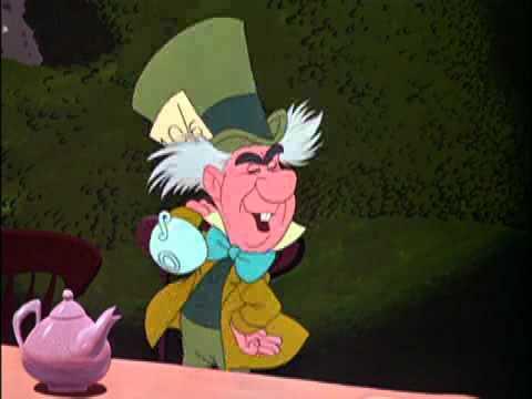 Alice au pays des merveilles extrait joyeux non anniversaire sur orange - Tasse alice aux pays des merveilles ...