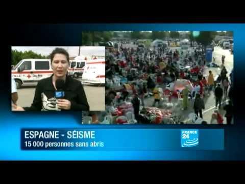 Espagne : Un séisme à Lorca éclate - 15 000 sinistrés
