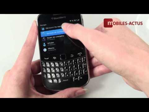 Blackberry Bold 9900 - Test, démonstration, prise en main
