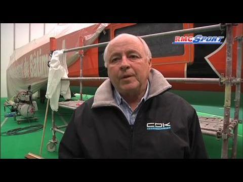 Vendée Globe / A la rencontre de ceux qui ont confectionné le bateau de F. Gabart