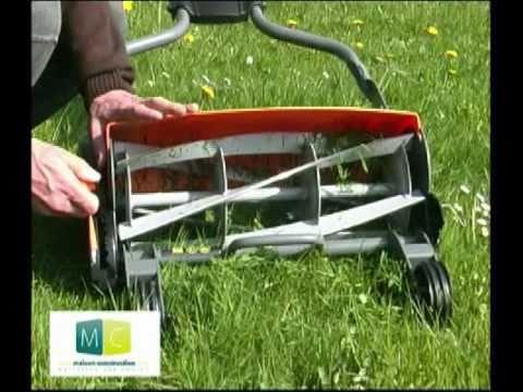 vid o tondeuse colo fiskars green lawnmower video sur orange vid os. Black Bedroom Furniture Sets. Home Design Ideas