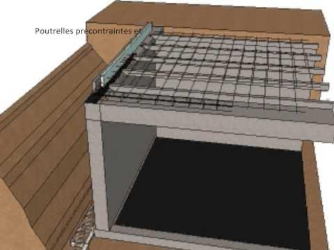 Les tapes de la construction d 39 une maison des fondations - Construction maison sans sous sol ...