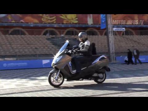 Peugeot Satelis 125 evo, le plus automobile des scooters GT