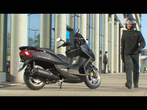 video kymco dink street 125 le premier abs pour un scooter 125 taiwanais sur orange vid os. Black Bedroom Furniture Sets. Home Design Ideas