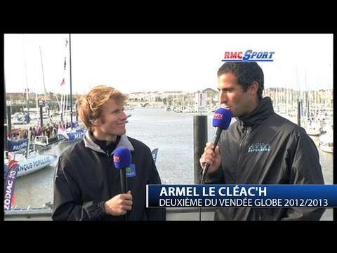 """Vendée Globe / François Gabart et Armel Le Cléac""""h, les retrouvailles ... à terre"""