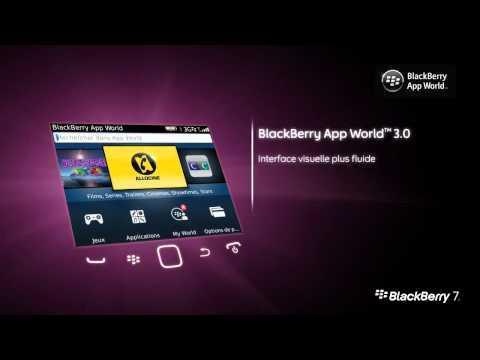 Le smartphone BlackBerry Bold 9900 sous OS7