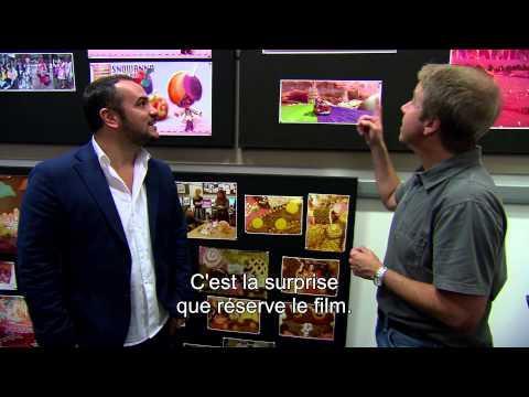 Les Mondes de Ralph : le doublage du film avec François-Xavier Demaison