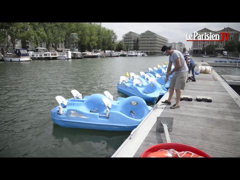 Le bassin de la Villette est prêt pour Paris Plages
