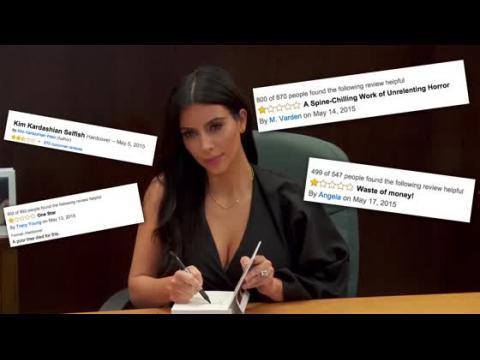 Le livre de selfies de Kim Kardashian fait un vrai flop