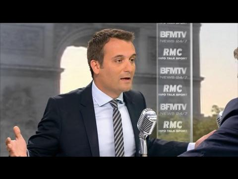 """Jean-Marie Le Pen: """"Il m'a insulté de manière ordurière et indigne"""", rappelle Florian Philippot"""