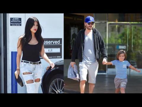 Kourtney Kardashian laisse ses enfants avec leur père Scott Disick