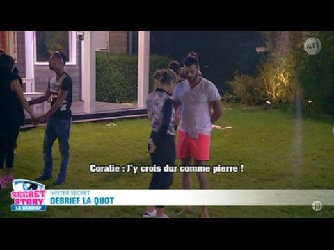 """Emilie (SS9) : """"J'y crois dur comme pierre"""" - ZAPPING PEOPLE DU 04/09/2015"""