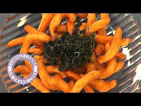 Goujonnettes de filets de soles frites