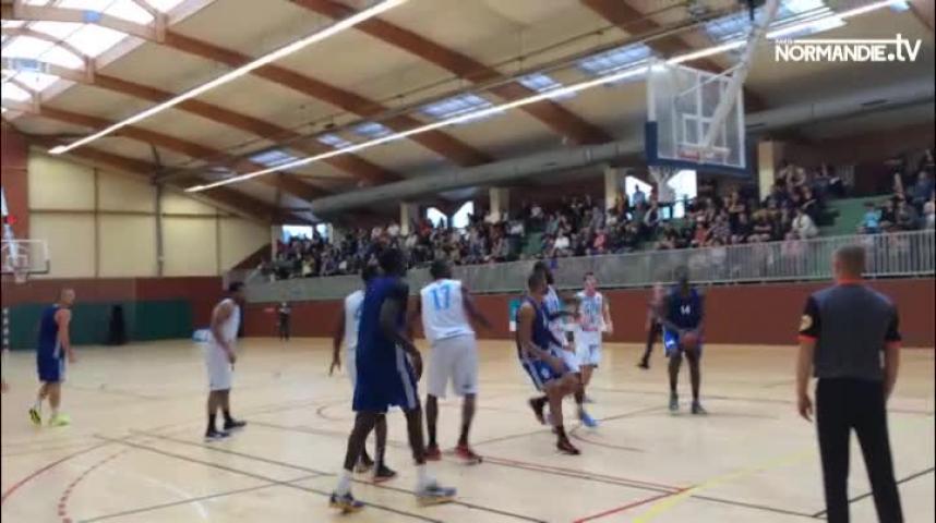 A Oissel Rouen bat ALM Evreux 110 à 101 (49-53).mp4