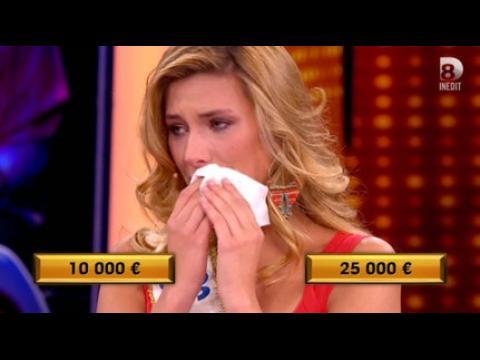 Les larmes de Camille Cerf - ZAPPING PEOPLE DU 07/09/2015
