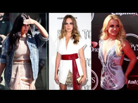 Cara Delevingne et Kendall Jenner sont les reines des franges