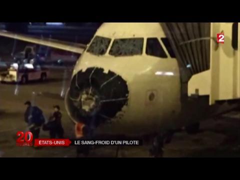 Zapping télé du 11 août 2015 - Un avion frappé par l'orage et la grêle !