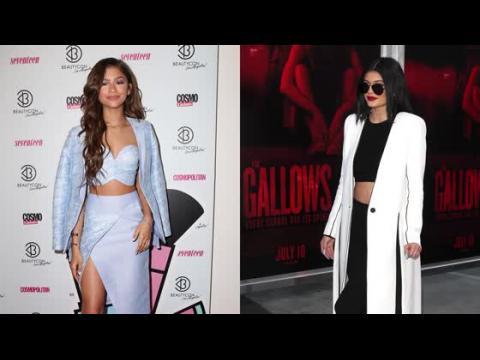 Zendaya et Kylie Jenner sont parmi les stars qui ont adopté la tendance des tops courts