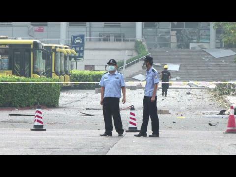 Chine/Explosion: inquiétudes sur de possibles rejets toxiques