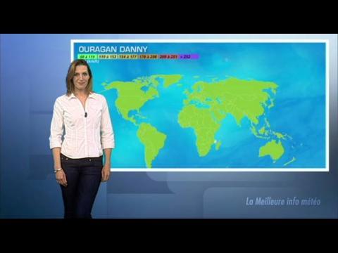 Cyclone Danny sur la Guadeloupe
