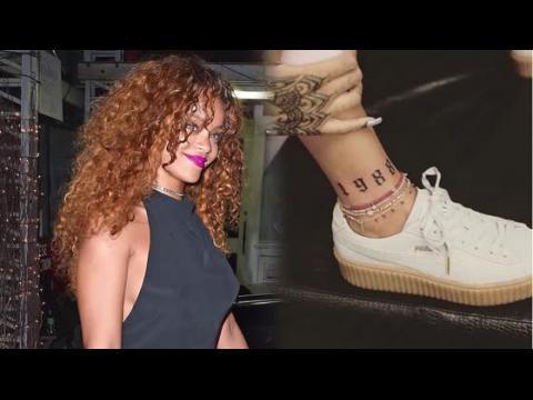 Rihanna est de sortie et dévoile un nouveau tatouage