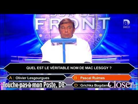 Jean-Pierre Foucault entarté